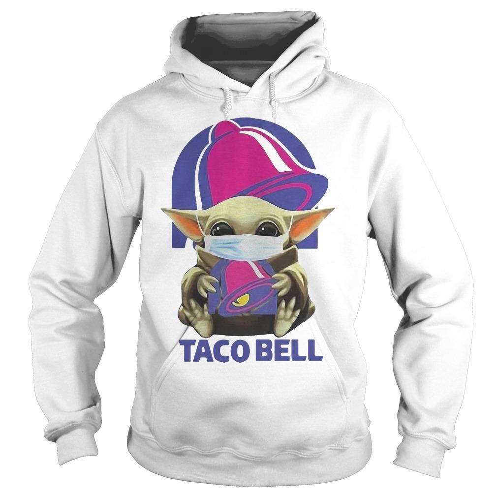 Mask Baby Yoda Hugging Taco Bell Hoodie