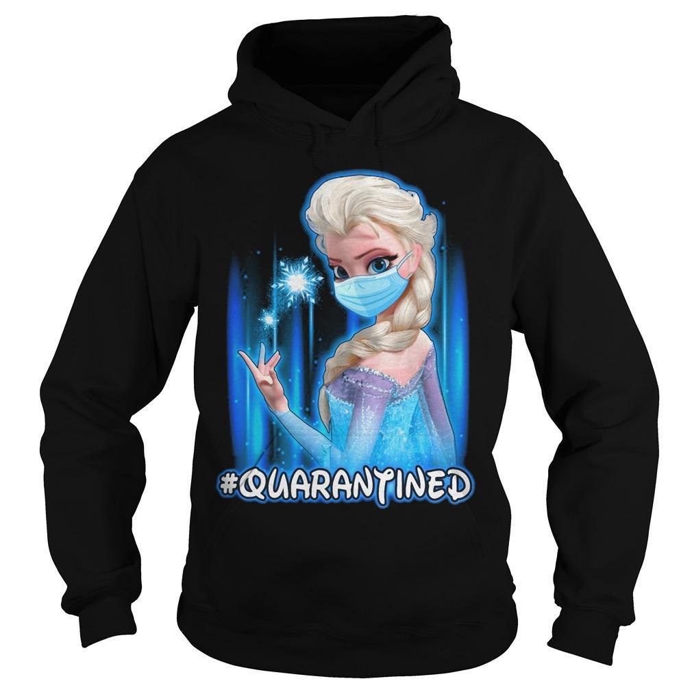 Mask Elsa #quarantined Hoodie