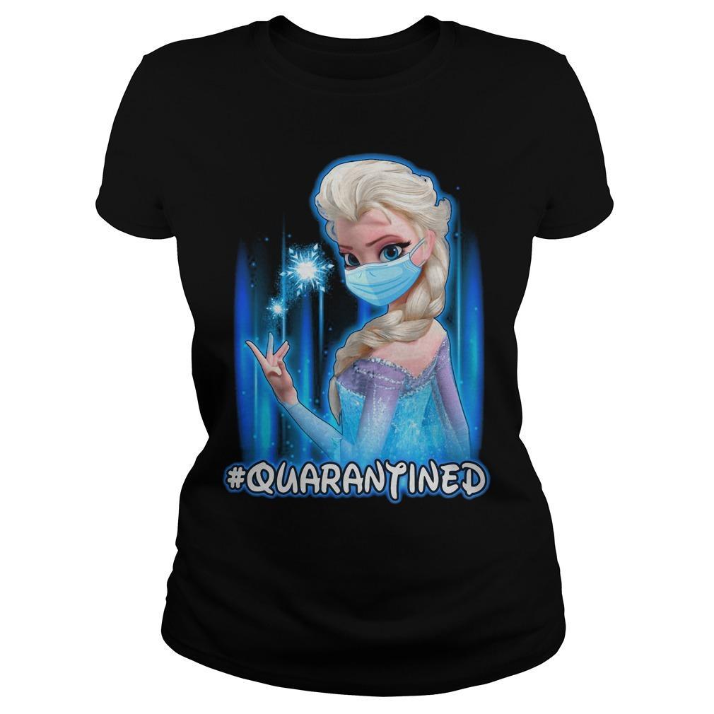 Mask Elsa #quarantined Longsleeve
