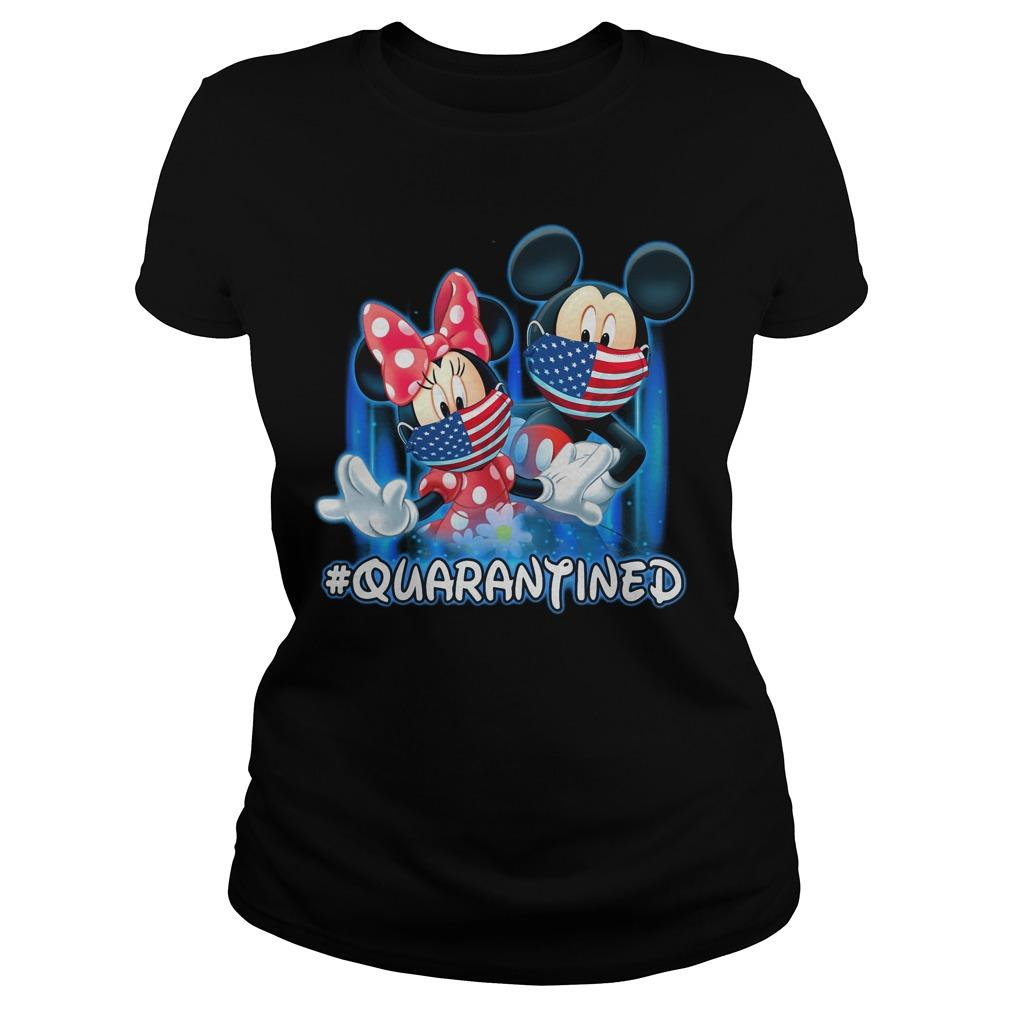 Mickey And Minnie Mouse #quarantined Longsleeve