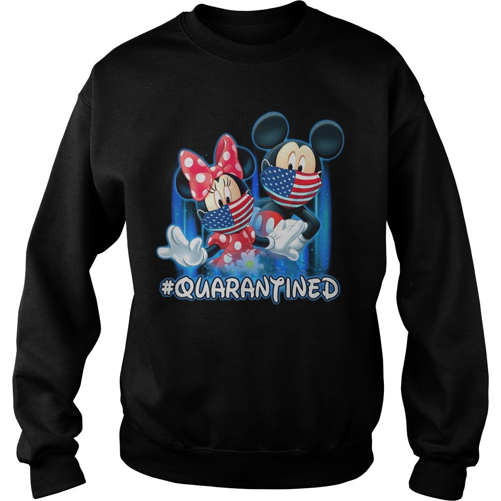 Mickey And Minnie Mouse #quarantined Sweater