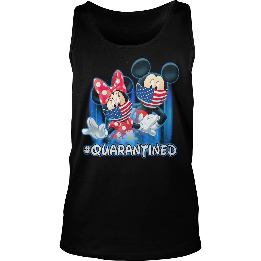 Mickey And Minnie Mouse #quarantined Tank Top