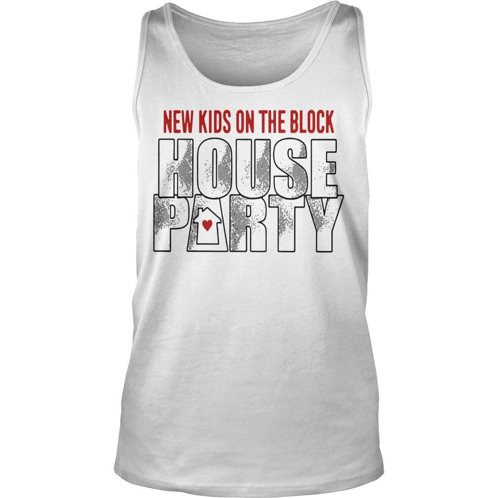 New Kids On The Block House Party Tank Top