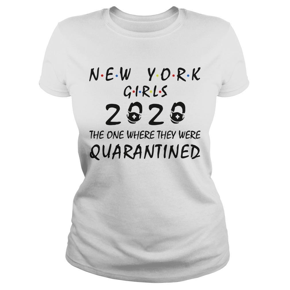 New York Girls 2020 The One Where They Were Quarantined Longsleeve