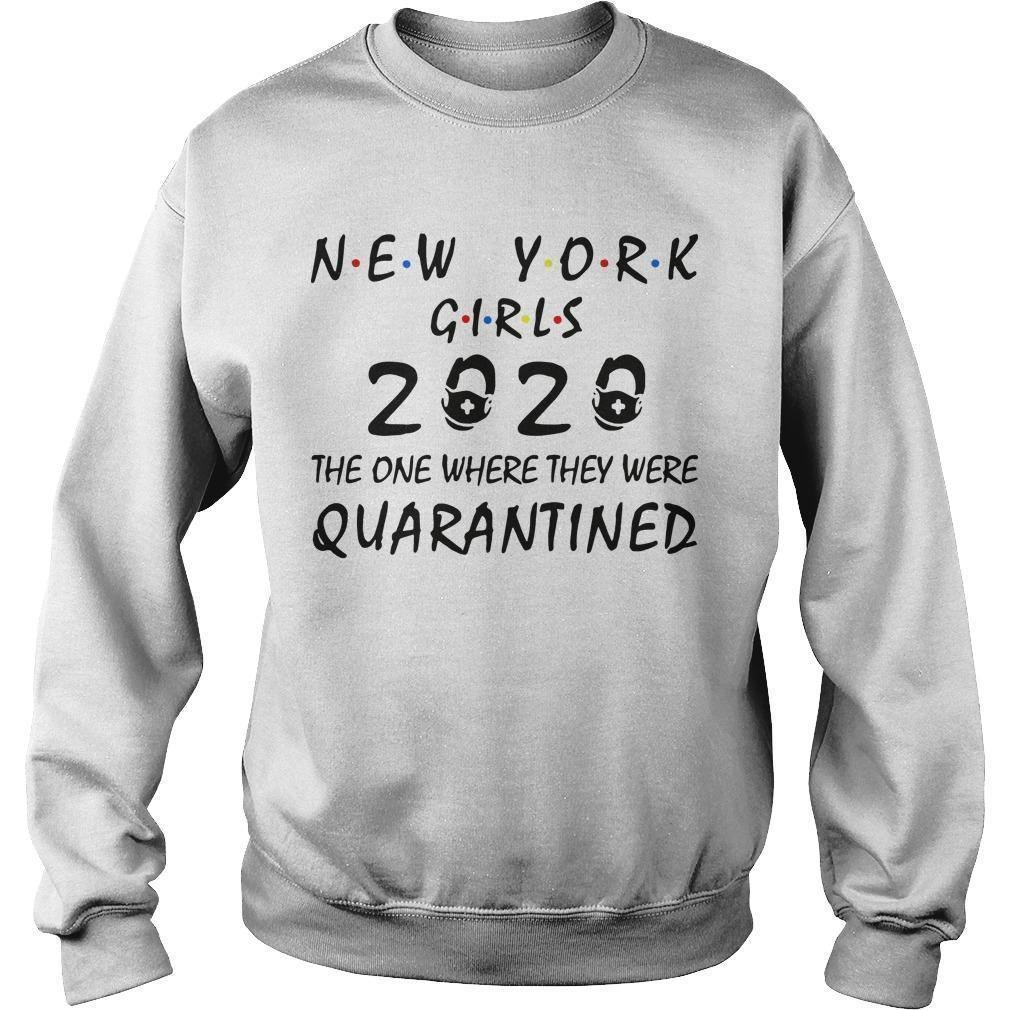 New York Girls 2020 The One Where They Were Quarantined Sweater