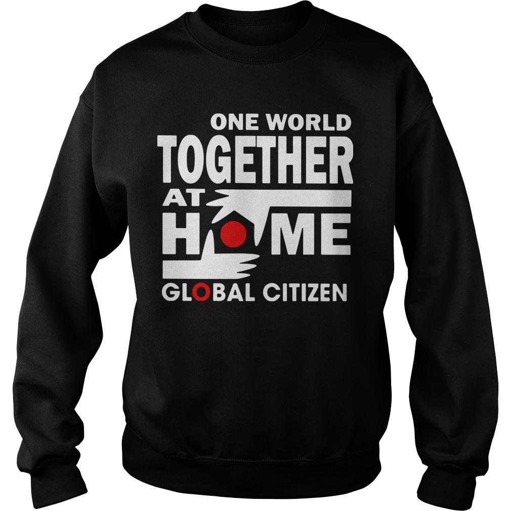 One World Together At Home T Sweater