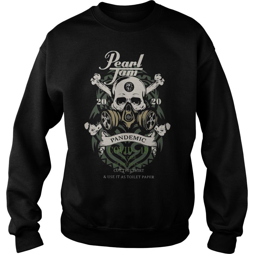 Pearl Jam 2020 Pandemic Covid 19 Sweater