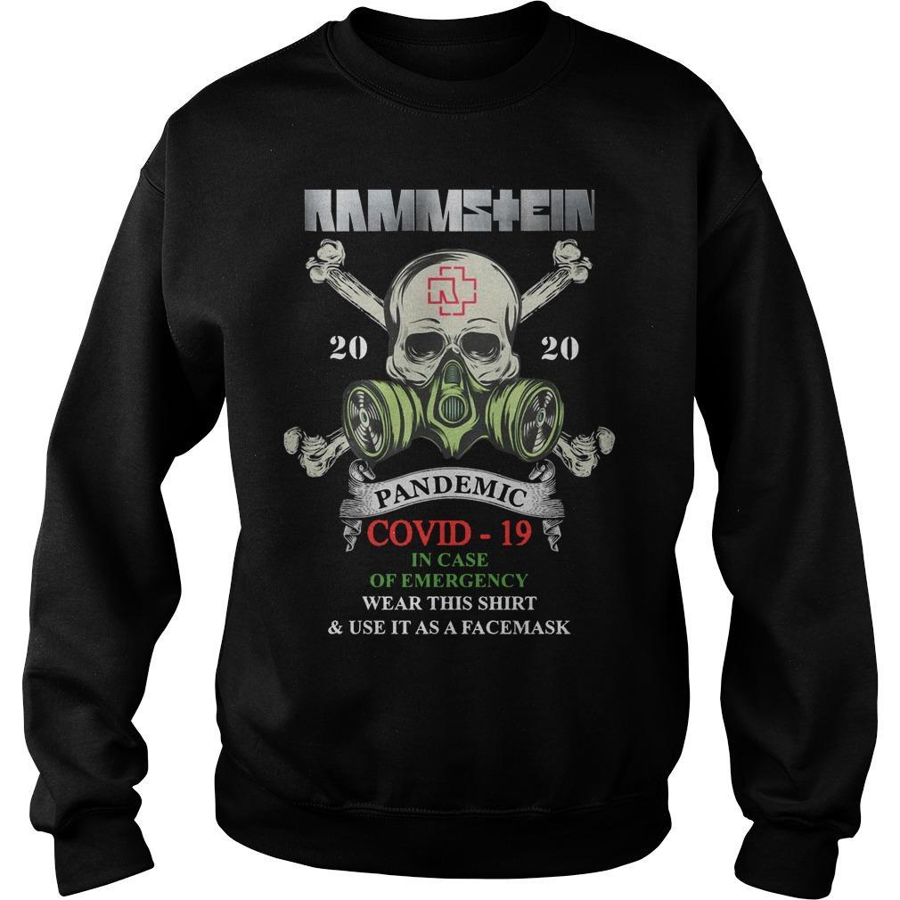 Rammstein 2020 Pandemic Covid 19 Sweater