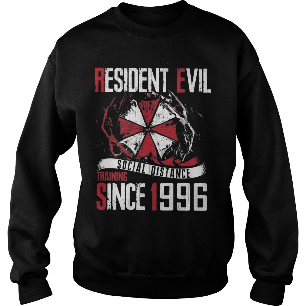 Resident Evil Social Distance Training Since 1996 Sweater