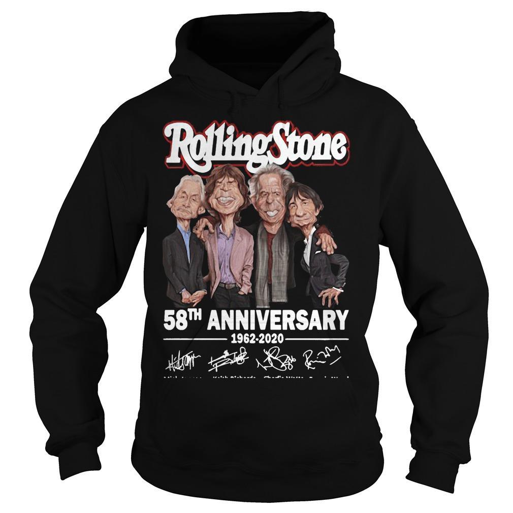 Rolling Stone 58th Anniversary 1962 2020 Hoodie
