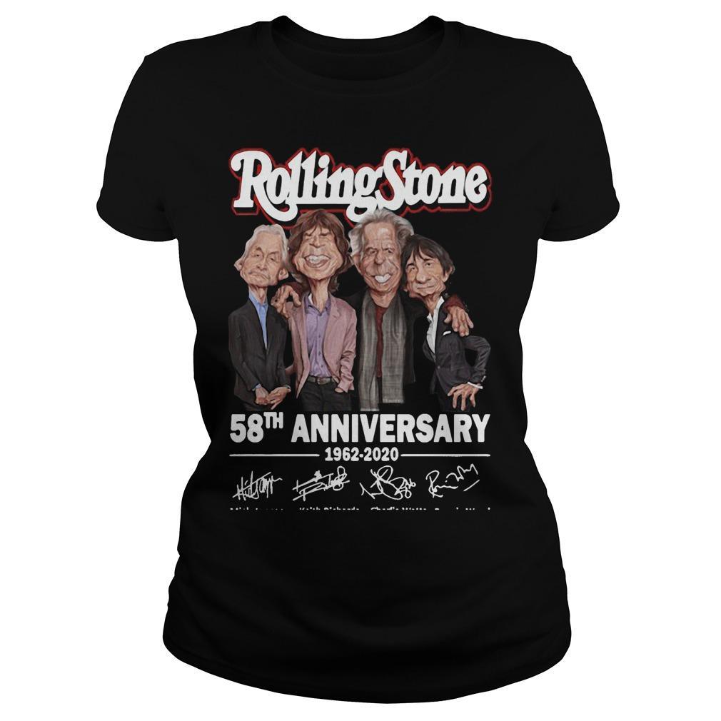 Rolling Stone 58th Anniversary 1962 2020 Longsleeve