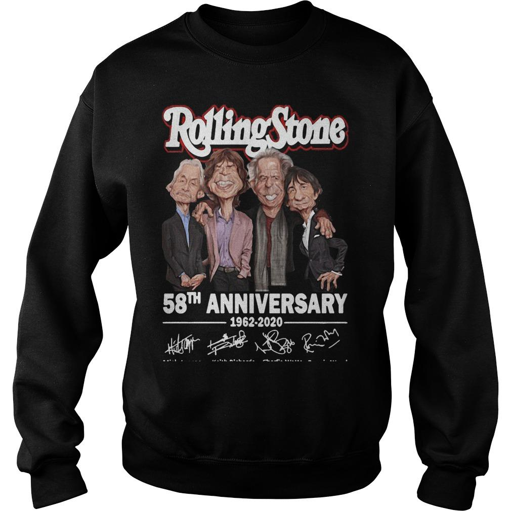 Rolling Stone 58th Anniversary 1962 2020 Sweater