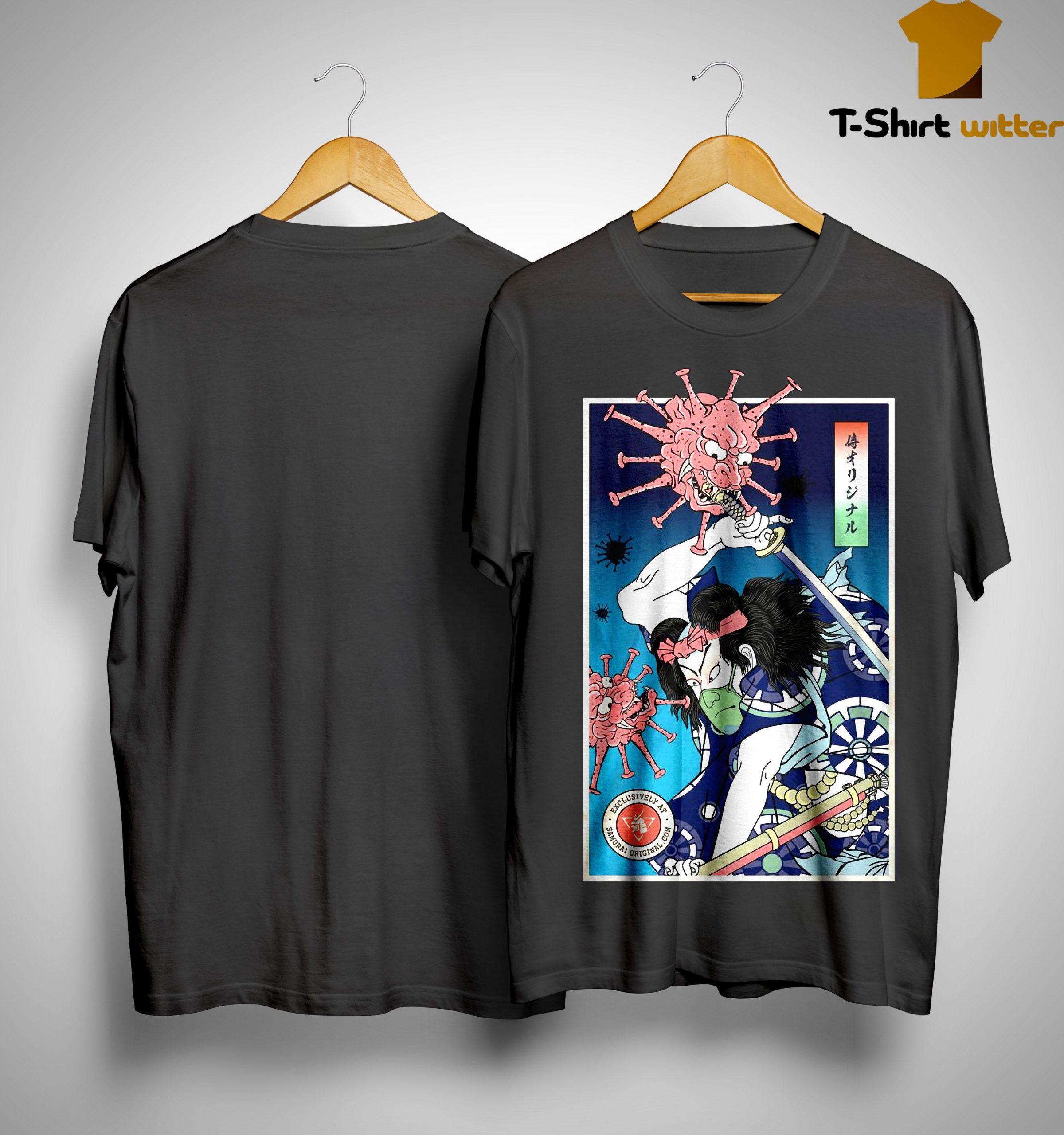 Samurai Vs Demon No 2 Shirt