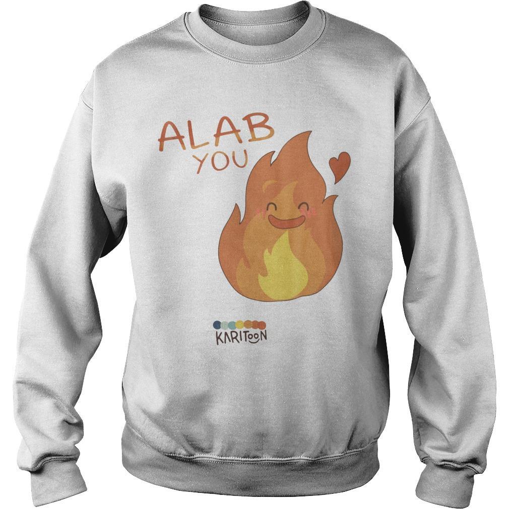 Sb19 Alab You Karitoon Sweater
