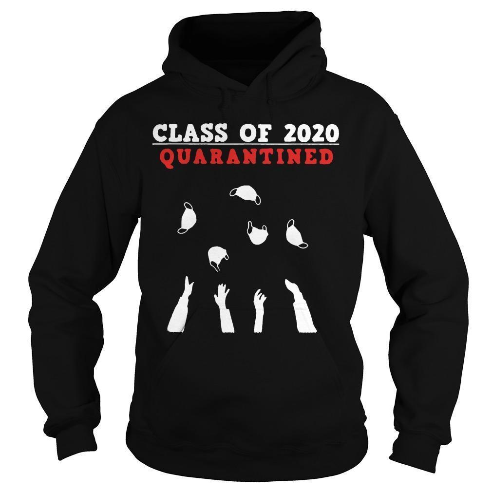 Seniors 2020 Friends Quarantine Hoodie