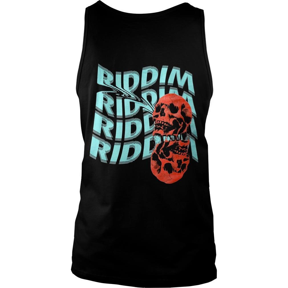 Skull Riddim Riddim Riddim Riddim Tank Top