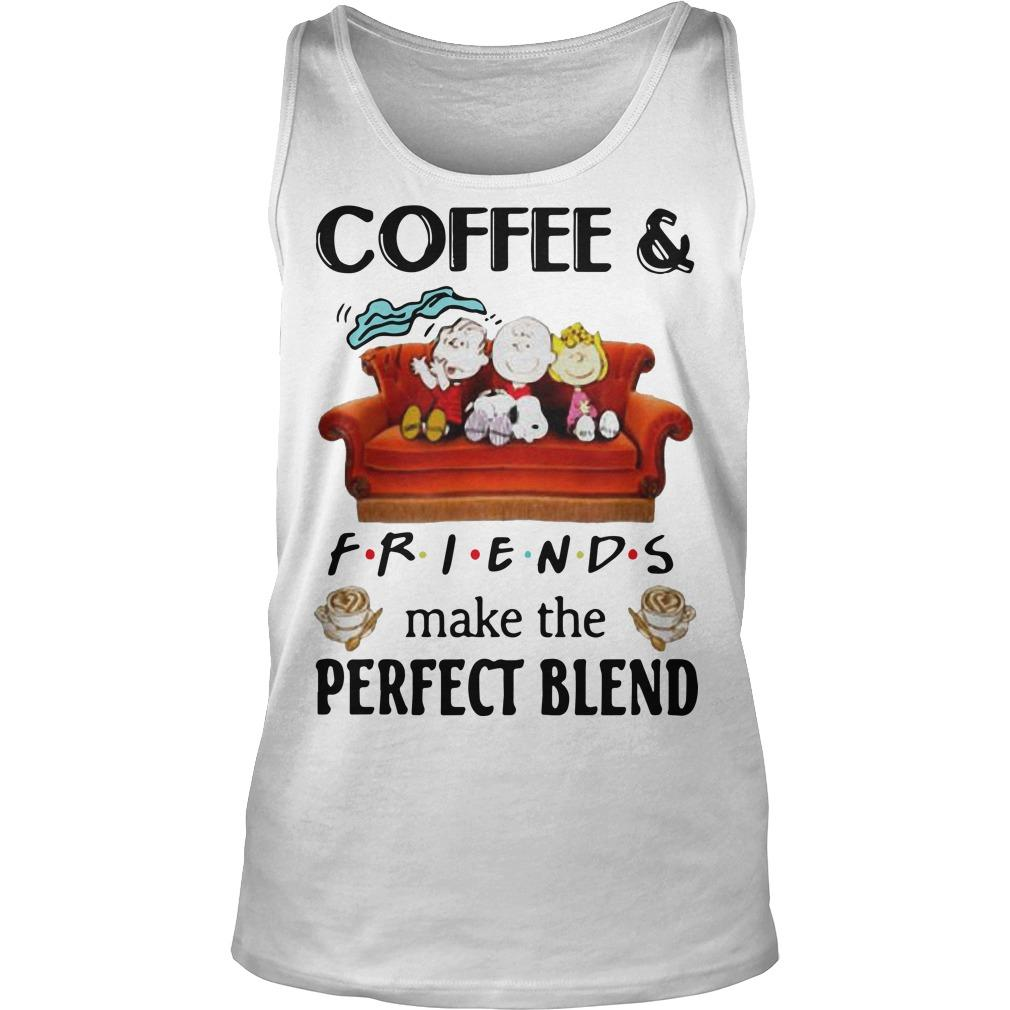 Snoopy Coffee And Friends Make The Perfect Blend Tank Top