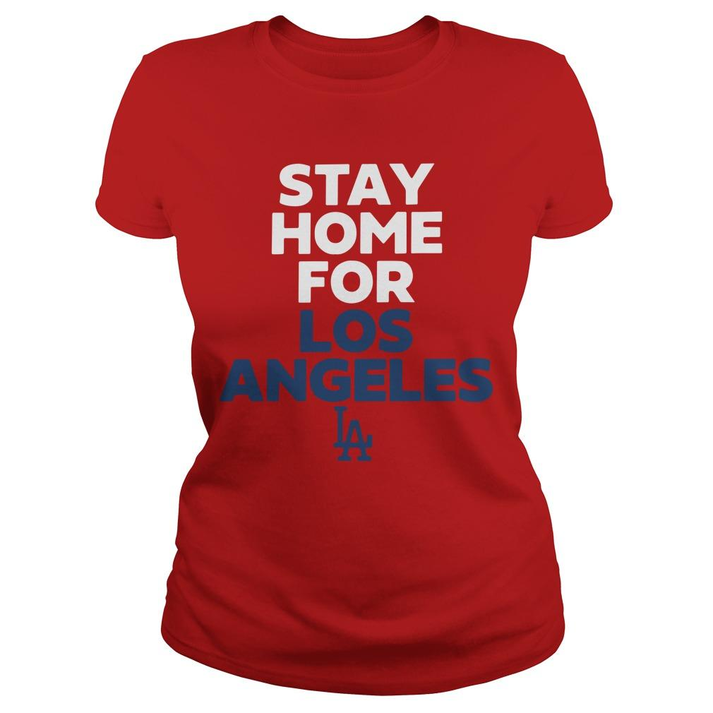 Stay Home For Los Angeles Longsleeve