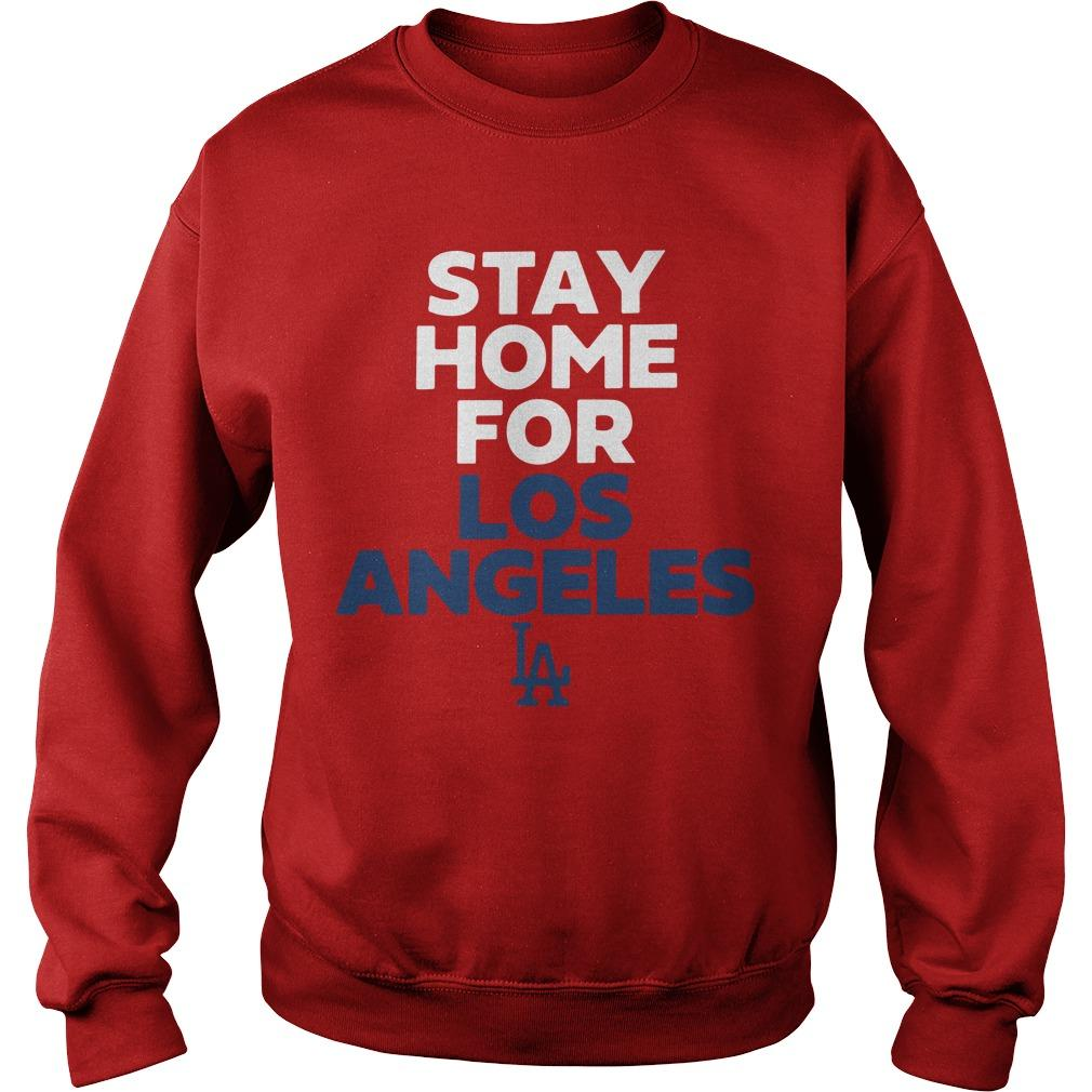 Stay Home For Los Angeles Sweater
