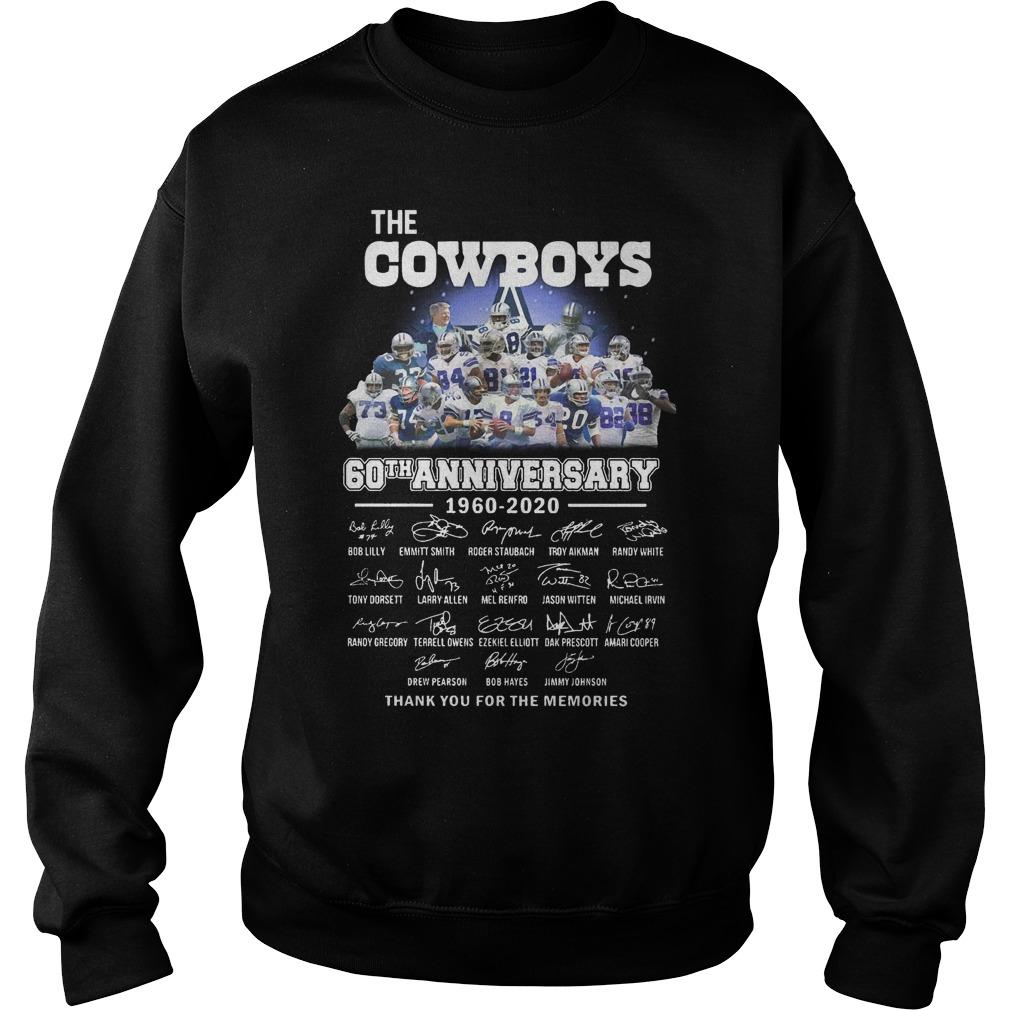 The Cowboys 60th Anniversary 1960 2020 Signature Sweater