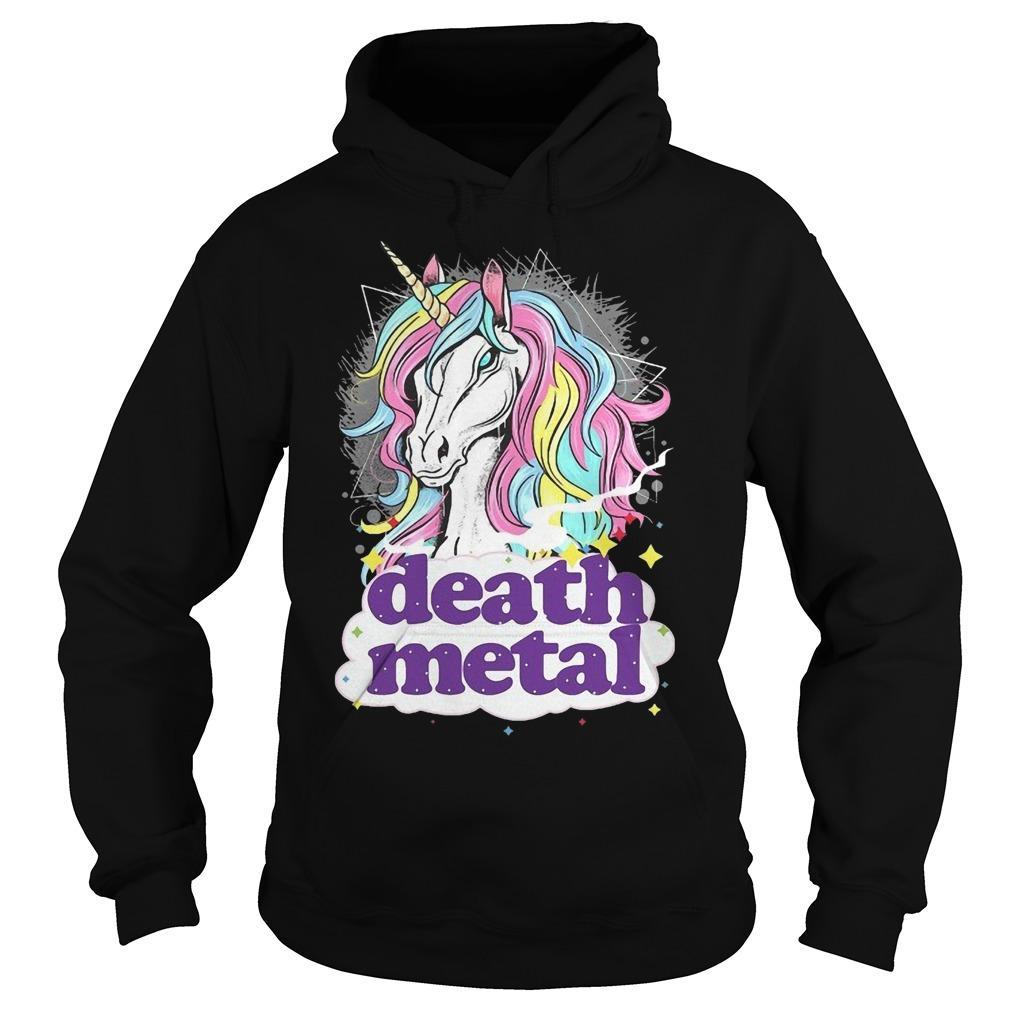 Unicorn Death Metal Hoodie