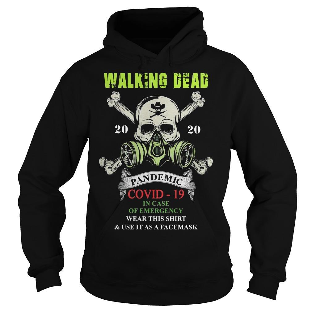 Walking Dead 2020 Pandemic Covid 19 Hoodie