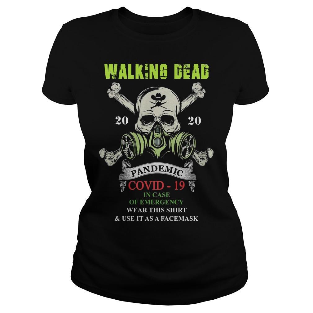 Walking Dead 2020 Pandemic Covid 19 Longsleeve