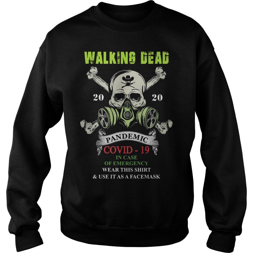 Walking Dead 2020 Pandemic Covid 19 Sweater