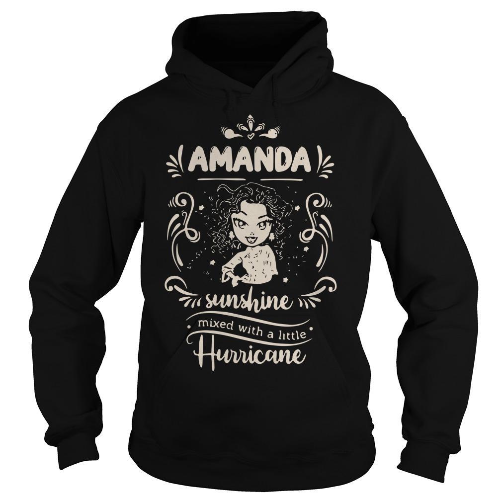 Amanda Sunshine Mixed With A Little Hurricane Hoodie