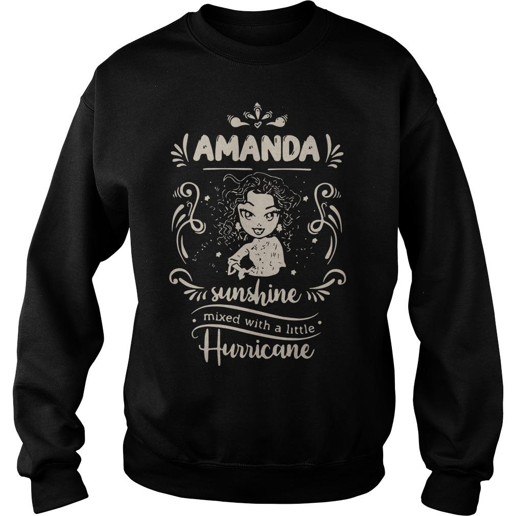 Amanda Sunshine Mixed With A Little Hurricane Sweater