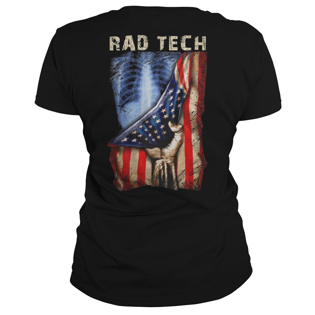 American Flag Rad Tech Longsleeve