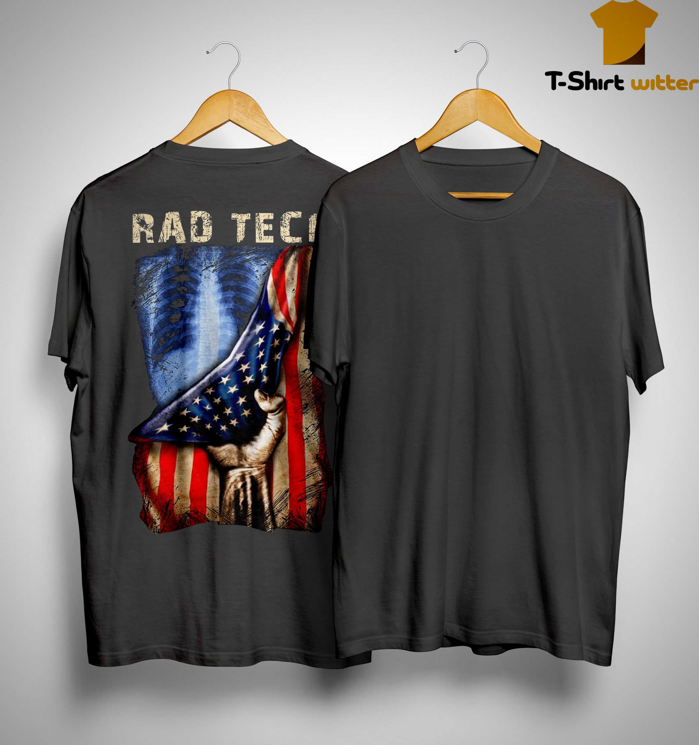 American Flag Rad Tech Shirt