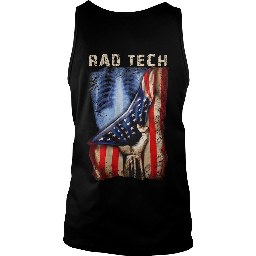 American Flag Rad Tech Tank Top