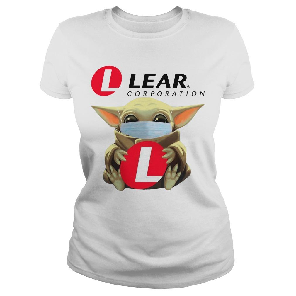 Baby Yoda Mask Hugging Lear Corporation Longsleeve