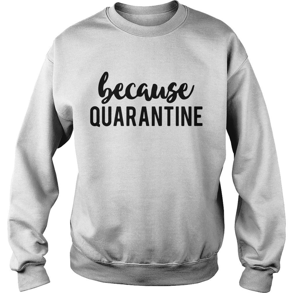 Because Quarantine Sweater