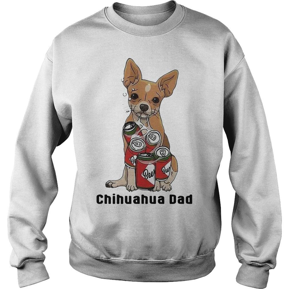 Beers Lover Chihuahua Dad Sweater