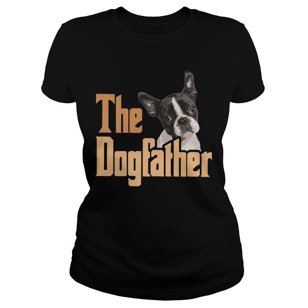 Boston Terrier The Dogfather Longsleeve