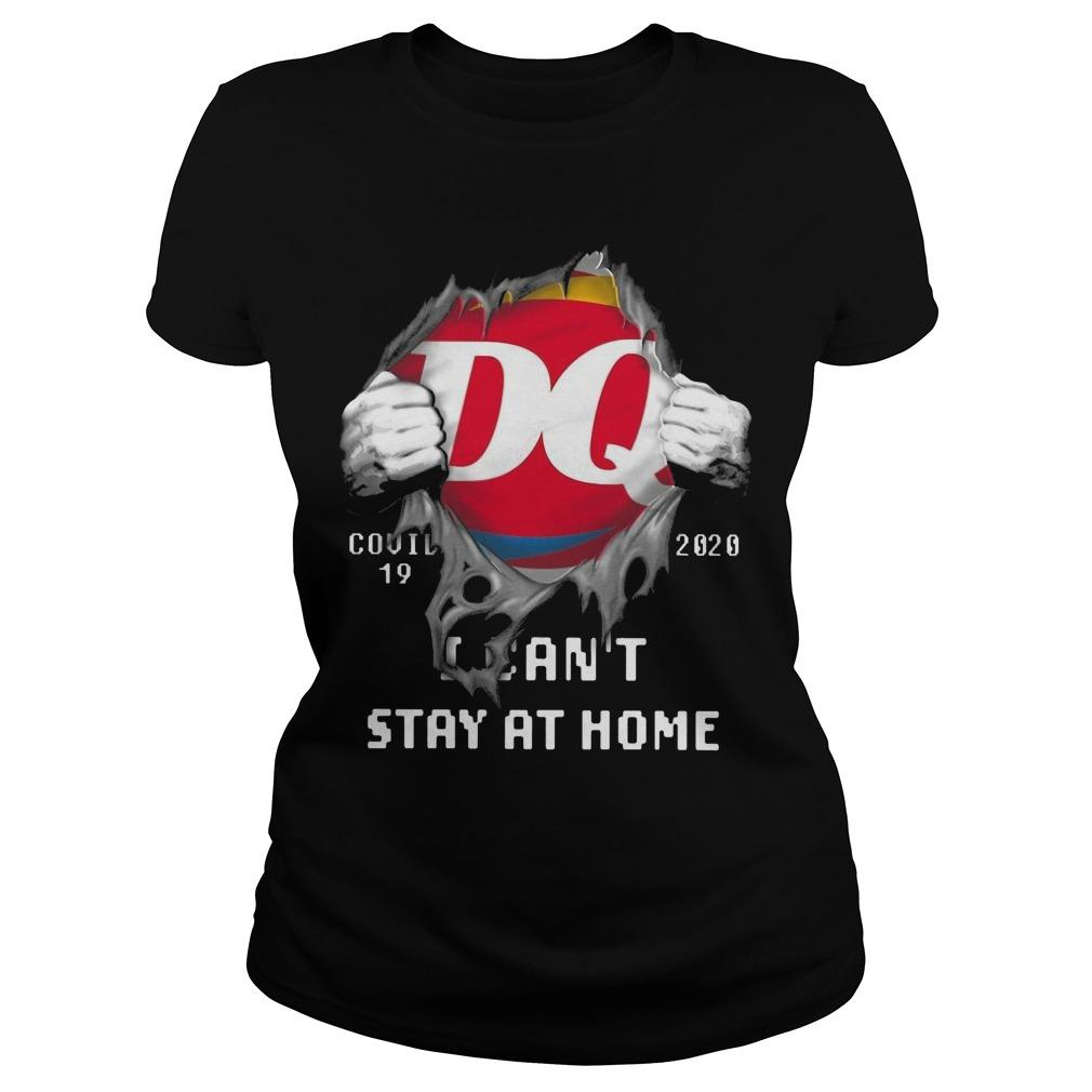Dairy Queen Covid 19 2020 I Can't Stay At Home Longsleeve