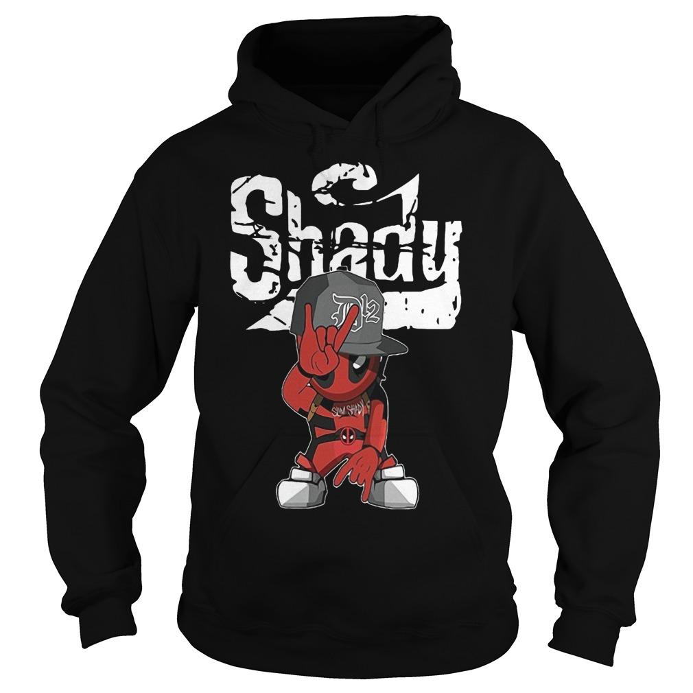 Deadpool Rap Hiphop Shady Hoodie