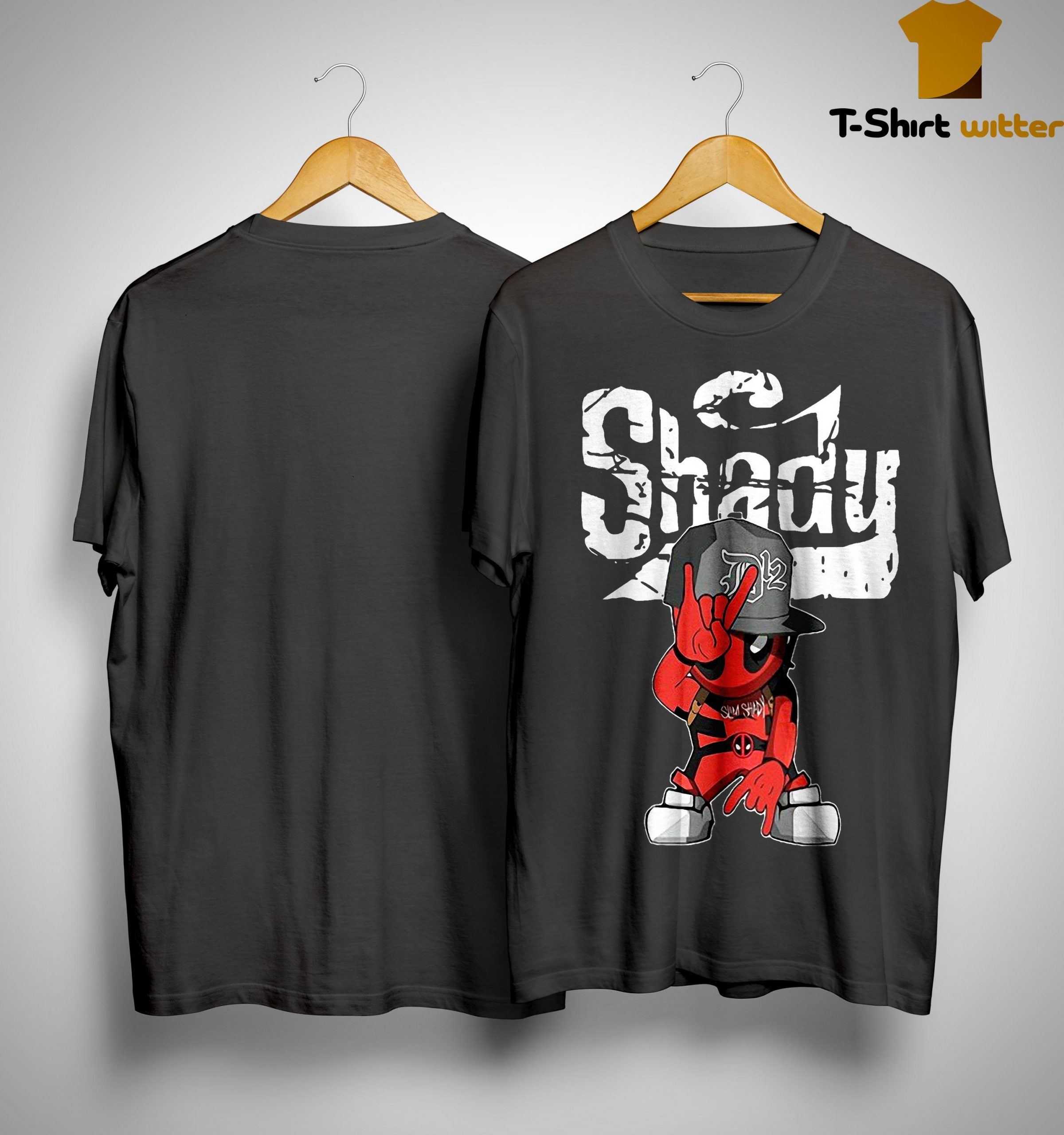 Deadpool Rap Hiphop Shady Shirt