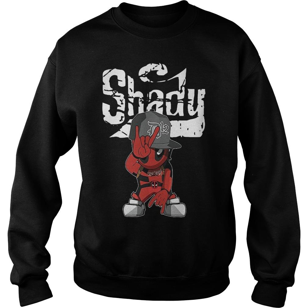 Deadpool Rap Hiphop Shady Sweater