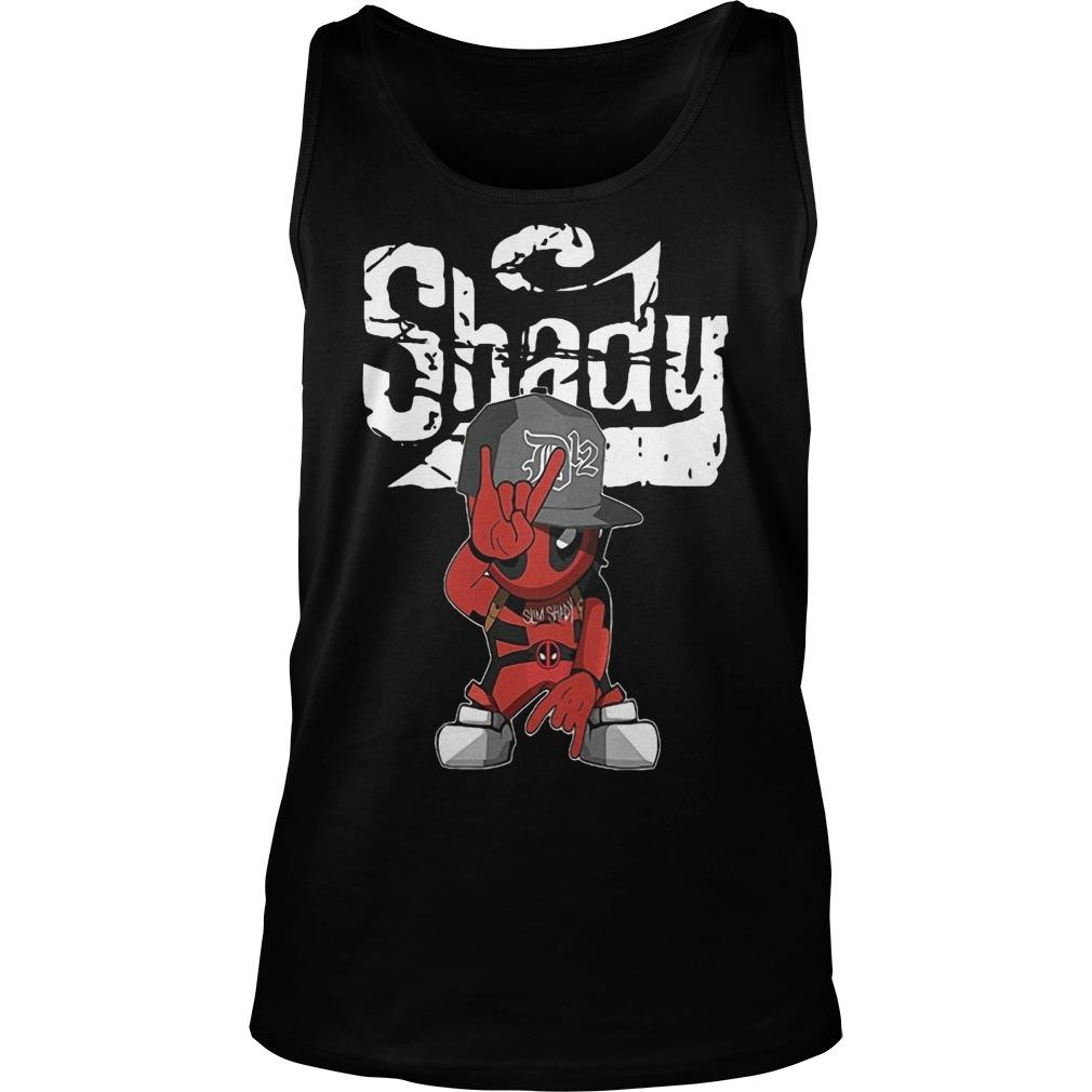 Deadpool Rap Hiphop Shady Tank Top
