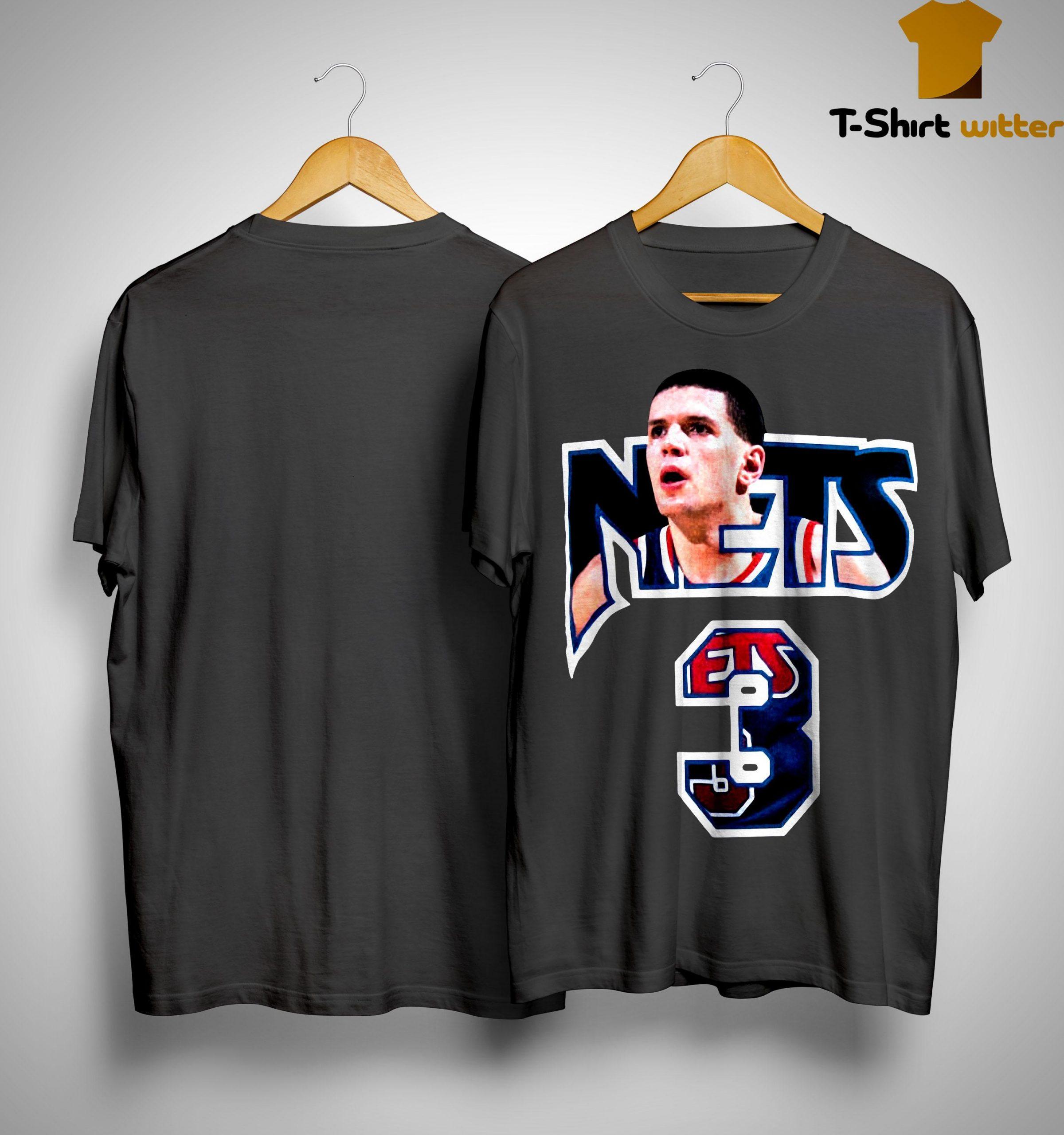 Drazen Petrovic Nets 3 Shirt