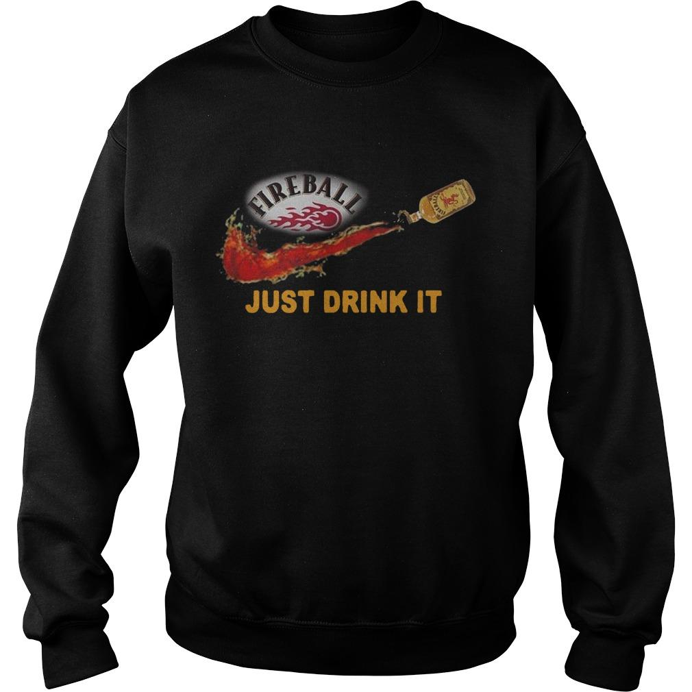 Fireball Just Drink It Sweater