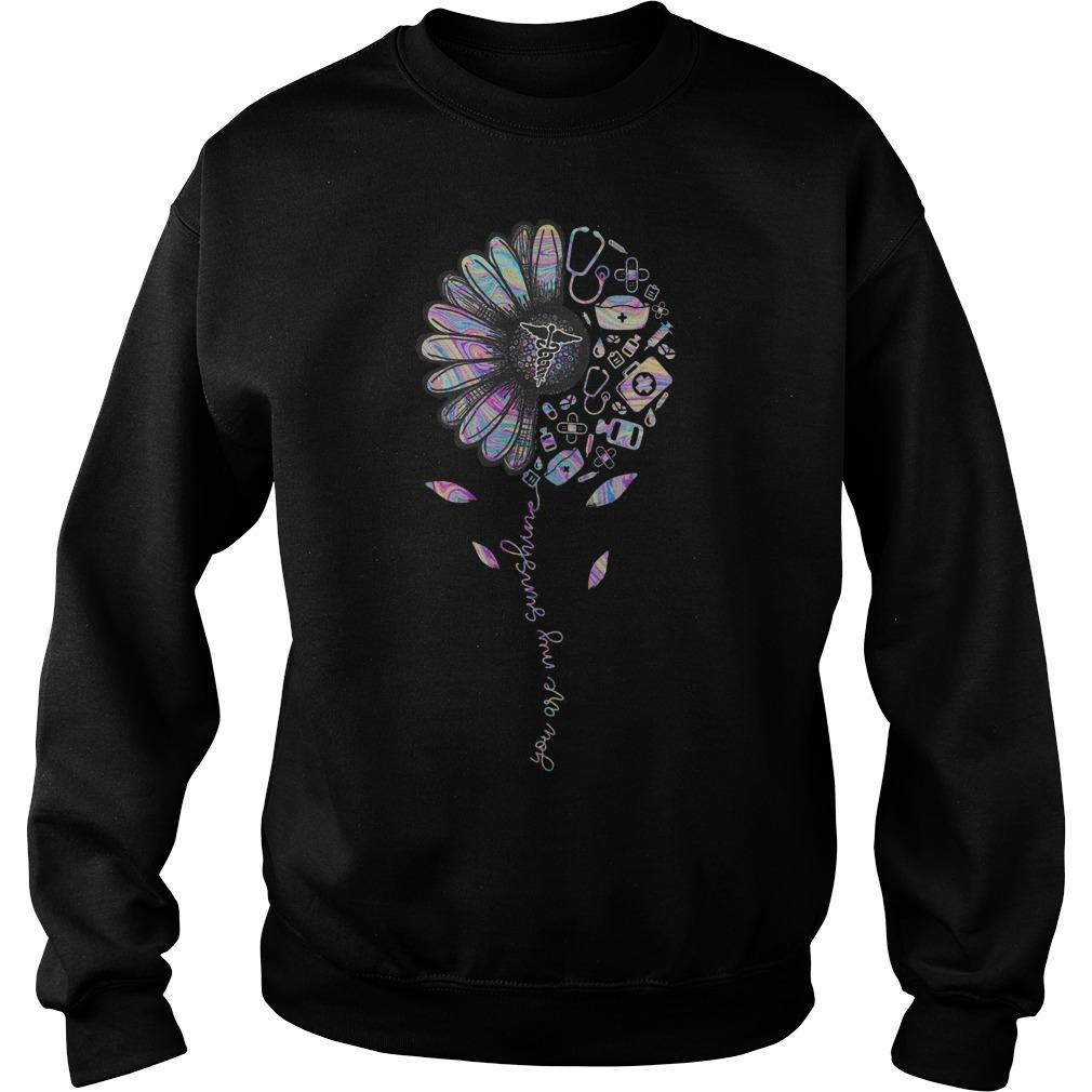 Flower Therapy You Are My Sunshine Sweater