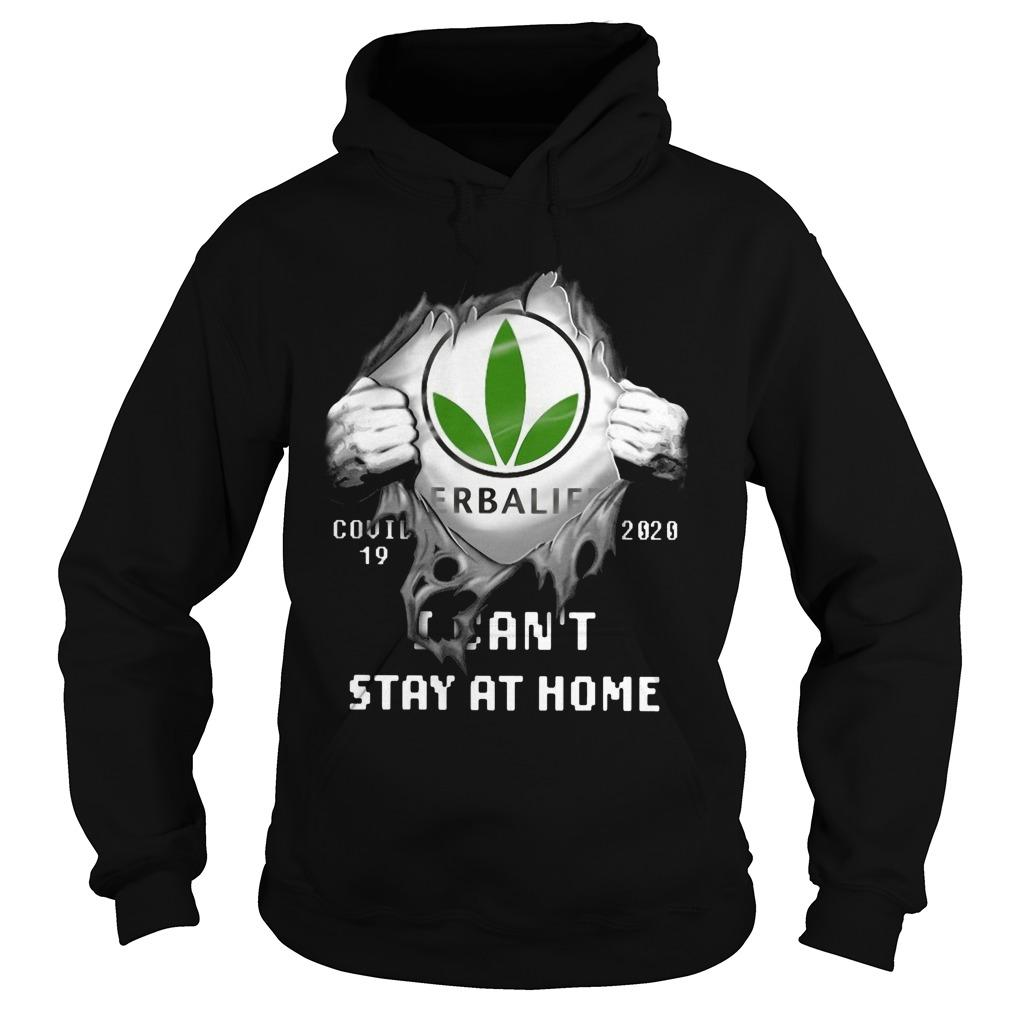 Herbalife Covid 19 2020 I Can't Stay At Home Hoodie