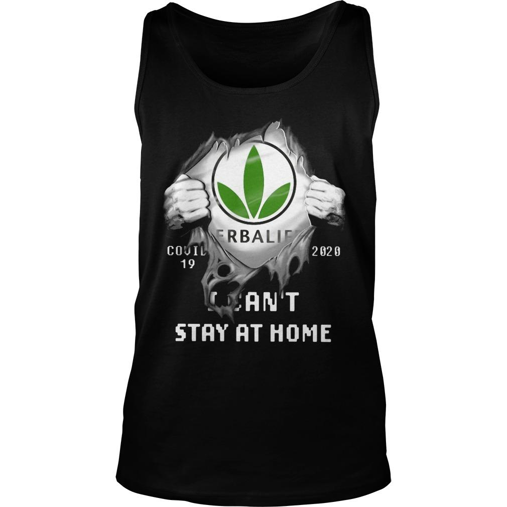 Herbalife Covid 19 2020 I Can't Stay At Home Tank Top