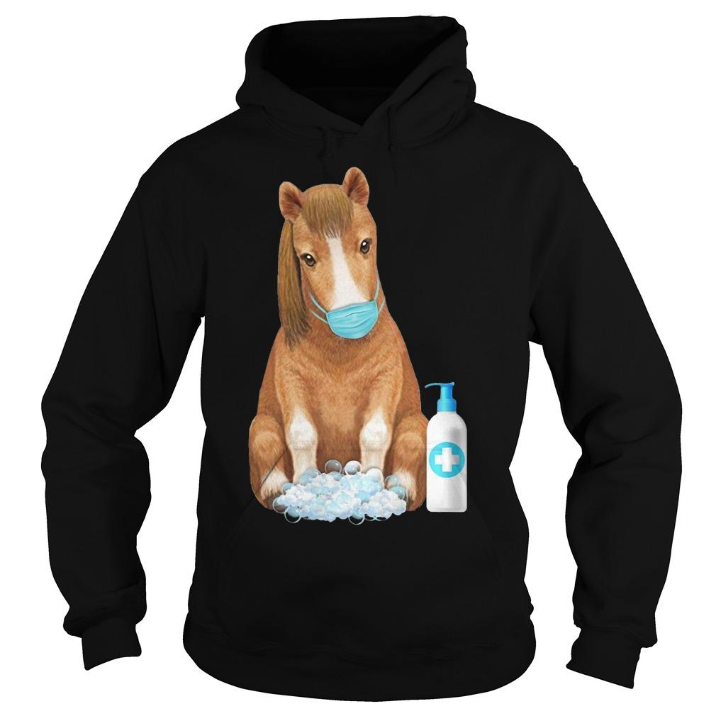 Horse Face Mask Washing Hand Hoodie