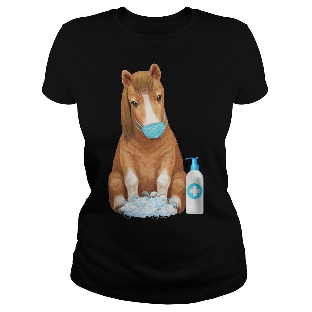 Horse Face Mask Washing Hand Longsleeve