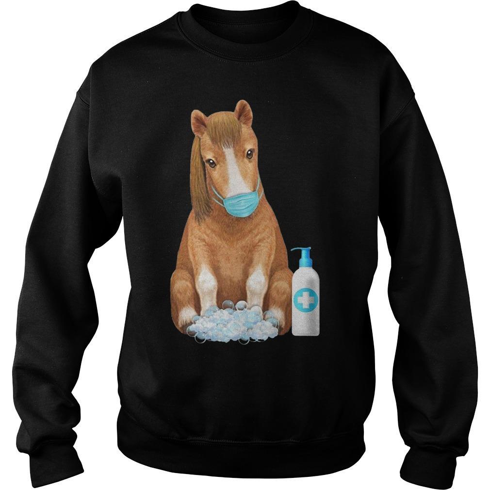 Horse Face Mask Washing Hand Sweater